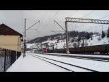 Дизель-поїзд ДПКр2-001 прямує ст.Лавочне