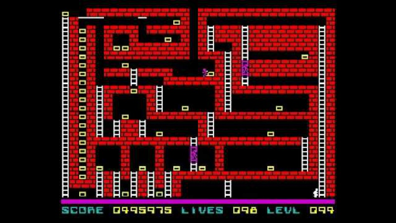 Lode Runner Walkthrough, ZX Spectrum