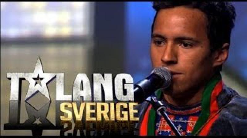 Jon Henrik - Daniels Jojk   Talang Sverige 2014