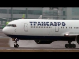 Boeing 767-36(ER) EI-RUX BQS-DME Domodedovo Landing