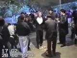Опасная лезгинка на лезгинской свадьбе в Азербайджане - Демер - Лихие 90-е