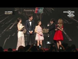 [Full Show]  2015 MAMA - Mnet Asian Music Awards in Hong Kong - Red Carpet (1/4) 151202