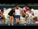 Marat Safin & Maria Sharapova. IPTL 2015