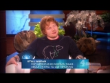 The Ellen DeGeneres Show Full Episode Season 13 2015.11.10 Rob Lowe, Justin Bieber, Kellie Pickler, Ed Sheeran, Jamie Lawson