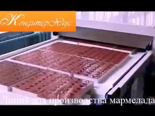 Машина для производства мармелада