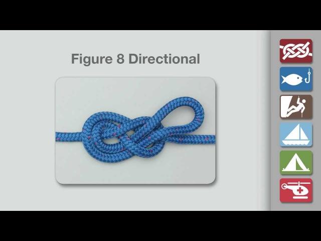 Figure 8 Directional Loop | How to Tie the Figure 8 Directional Loop