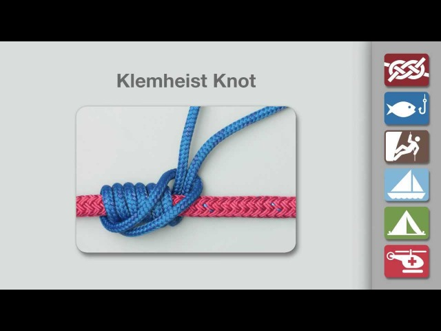 Klemheist Knot | How to Tie the Klemheist Knot
