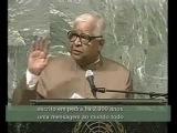 Revolutionary speech to United Nations by Vipassana Meditation Teacher S N. Goenka