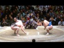 Mongolian Sumo Hero Hakuho Highlight Mix Jan 2014
