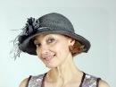 Шьём текстильные шляпы без выкроек из шнуров и шёлковых лент. Мастер класс. Тать