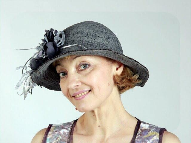 Шьём текстильные шляпы без выкроек из шнуров и шёлковых лент Мастер класс Татьяна Лазарева