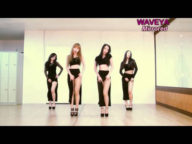 Mirrored Waveya ★ GIRL'S DAY Something 걸스데이 썸씽 kpop cover dance ver.