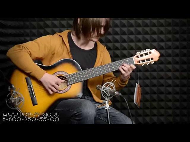 Дешевая гитара COLOMBO LC 3900 и какие серьезные каверы он играет