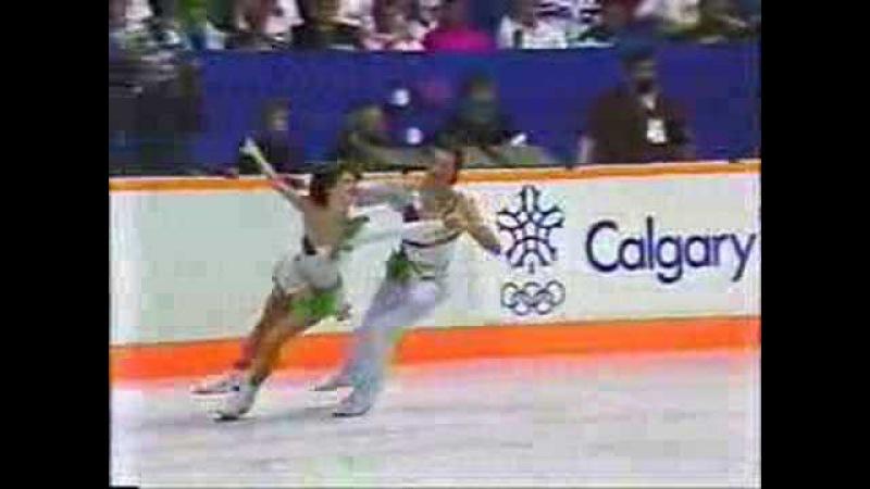 Klimova and Ponomarenko 1988 Olympics free dance