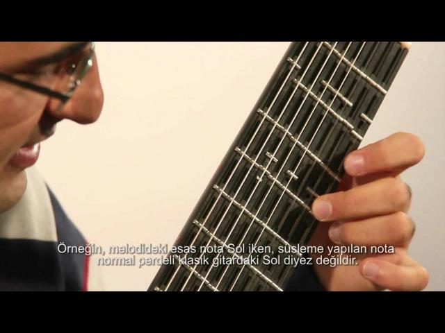 Microtonal Guitar Adjustable Tolgahan Çoğulu Part 1 Maqam Music