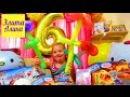 Детский день рождения Элиточки. Распаковка подарков Томас и его друзья, Летачки, Беременная Штеффи