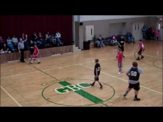 Fat Kid Makes Behind Back/Half Court/Buzzer Beater Shot Of A Lifetime! Wins Game!