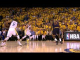 LeBron James Nails Long Clutch Three
