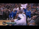 "Rare: Glen ""Big Baby""Davis - alley-oop and dunk"