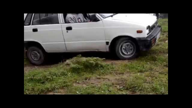 Off-Roading at Hatu peak with Vibhav in his Maruti 800