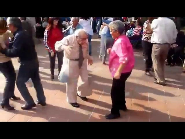 Old Man Throws Down Crutches to DANCE *FULL VIDEO*
