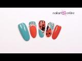 Дизайн ногтей гель краски