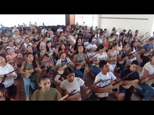 Тысяча юных комузистов сыграет Маш ботой на открытии Всемирных игр кочевников