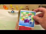 Цветная пена и шипелки в ванной ! Веселое развлечение для детей  от Мисс Мили