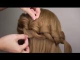 Easy Big Loop Braids Hair Tutorial