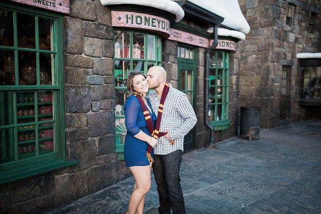 9AT82G fAP4 - Тематическая свадьба в стиле Гарри Поттер (8 фото)