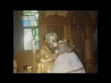 Благословение святителя Иоанна Шанхайского снято на видео
