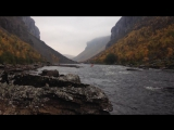 Video from Steinfossen with Florian Stang and Irina Mikhailova in the canoe.