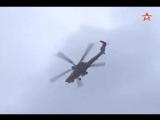 Падение вертолета Ми-28Н 02-08-15 в 12-01 на полигоне Дубрович (Авиадартс-2015)
