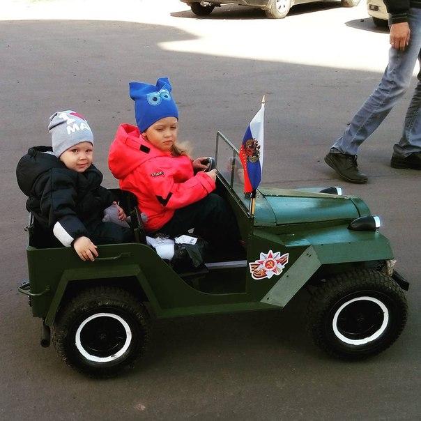 ГАЗ-67 подарок детям своими руками