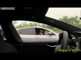 Пранк-розыгрыш - Тесла с невидимым водителем / Invisible Driver Prank In A Tesla