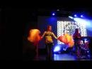 Milana dance tribal fusion with veils @ Theodor Bastard 19/07/2015 live in St.Petersburg GlavCLUB