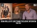 Sienna Miller Luke Evans Exclusive Interview - High Rise