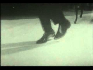 Muhammad Ali showing the Ali Shuffle