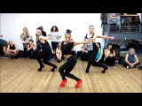 "YANIS MARSHALL CHOREOGRAPHY ""LOVE IN THIS CLUB"" USHER  BEYONCE. HEEL'S CLASS FEATURING MARIE NINJA"