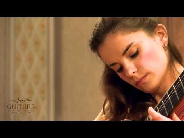 Ana Vidovic plays Una Limosna Por el Amor de Dios by Agustin Barrios Mangoré