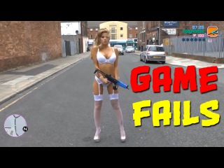 Funny moments, bugs and fails in games / Смешные моменты, баги и приколы из игр