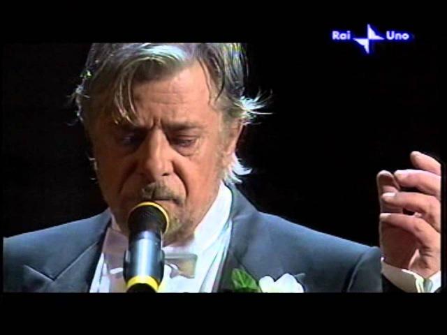 Giancarlo Giannini in Vecchio Frack Omaggio a Domenico Modugno Live con Orchestra Sanremo 2006