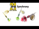 Блесна Pontoon 21 Synchrony. Spinnerbait Pontoon 21 Synchrony Underwater