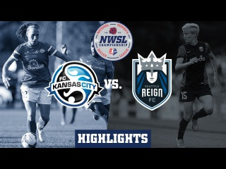 Seattle Reign FC vs. FC Kanas City: Highlights - Oct. 1, 2015