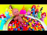 Baby Doll Bathtime Play-doh Dippin Dots Surprise Teletubbies Peppa Pig SpongeBob Marsupilami Disney
