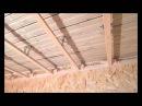 Монтаж потолка плитами OSB