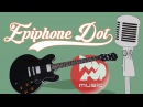 Электрогитара EPIPHONE DOT EBONY CH Archtop Electric Guitar