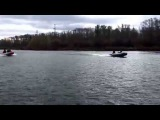 Лодки АЭРО: Катюша 360 НДНД, Катюша 340 НДНД, РИБ Победа 350.