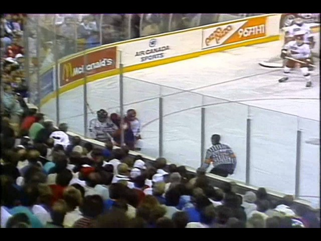 13 сентября 1987 года, Кубок Канады, финал СССР - КАНАДА (5:6 ОТ) 2-ая игра