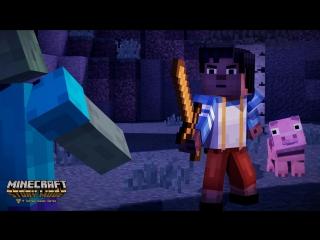 Minecraft Story Mode - ЗАПАДНЯ! МАНЬЯКИ! - Часть 3
